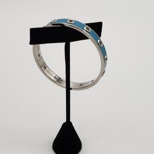 Coach blue bracelet